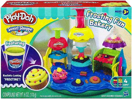 Tiệm bánh vui vẻ, Play-Doh A0318, đất nặn, đất sét nặn
