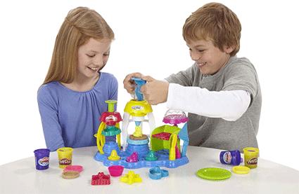 Dụng cụ tạo hoa văn, tiệm bánh vui vẻ, Play-Doh A0318, đất nặn, đất sét nặn
