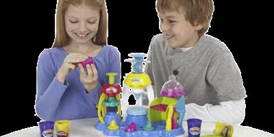 Ép bột theo khuôn có sẵn, tiệm bánh vui vẻ, Play-Doh A0318, đất nặn, đất sét nặn