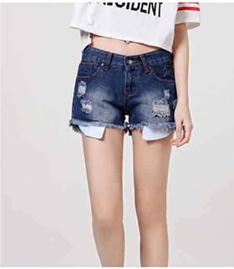 Thời trang quần short lộ túi