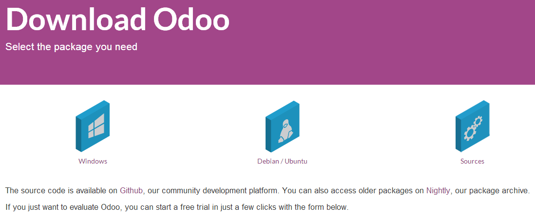 Download Odoo