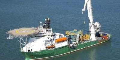 Tàu Havila Harmony mang theo thiết bị điều khiển tự động dưới nước.