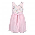 Đầm màu hồng cá tính cho bé gái