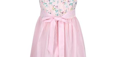 Đầm hồng cho bé gái