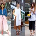 Chọn giày cho item cùng quần culottes