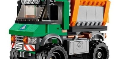 Đồ chơi xếp hình LEGO 60083 City Snowplow Truck