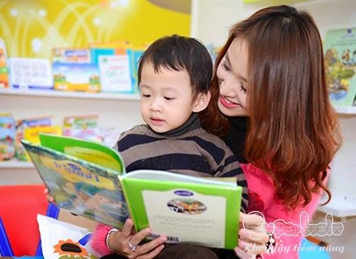 giúp trẻ say mê sách