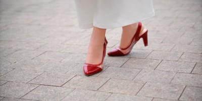 Giày cao gót cá tính.