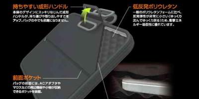 Túi chống sốc có quai xách Elecom ZSB-IBH003