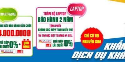 Ưu đãi đặc biệt khi mua smartphone và laptop