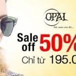 Mắt kính thời trang Opal  giảm giá 50%