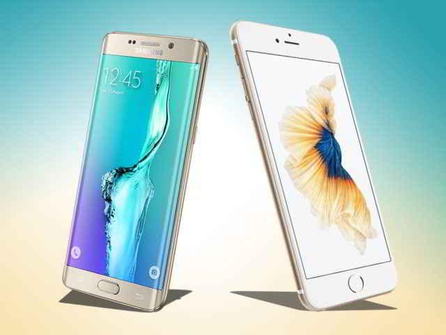 Apple iPhone 6s Plus vs Samsung Galaxy S7 Edge