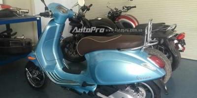 Lộ ảnh trần trụi Vespa Primavera 150cc tích hợp ABS