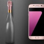Galaxy S7 edge hồng vàng về Việt Nam nguyên giá