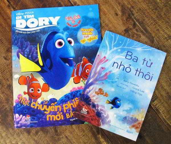 Đi tìm Dory, Marlin và Nemo, Đi tìm Nemo, finding Dory