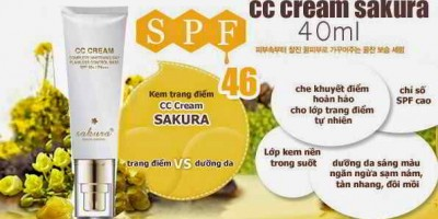 CC CREAM SAKURA FLAWLESS CONTROL BASE