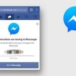 Facebook sắp loại bỏ tính năng chat trên trình duyệt di động