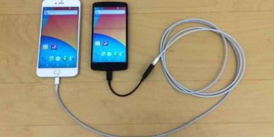 Ngắm chiếc iPhone chạy hệ điều hành... Android