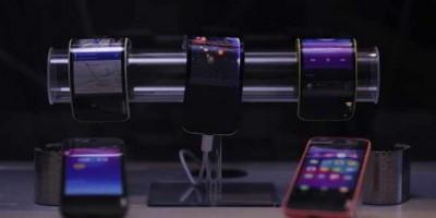 Lenovo khoe smarphone màn hình uốn dẻo, tablet gập đôi