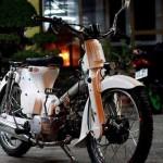 """Honda Super Cub 78 """"nát"""" độ phong cách học sinh Việt"""
