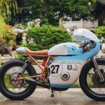 Ngắm Anthony Honda CB550 độ phong cách cafe racer