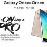 Samsung trình làng Galaxy On5 Pro và On7 Pro