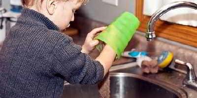 Cho trẻ làm việc nhà để trưởng thành