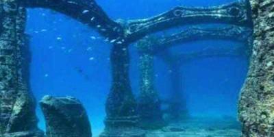 thành cổ dưới đáy biển