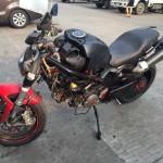 Diện kiến chiếc Ducati Monster 796 độ 'dị' nhất Việt Nam