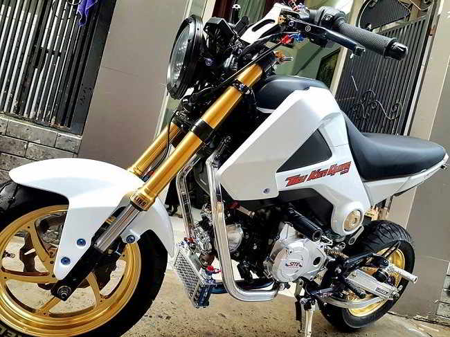 độ Honda MSX