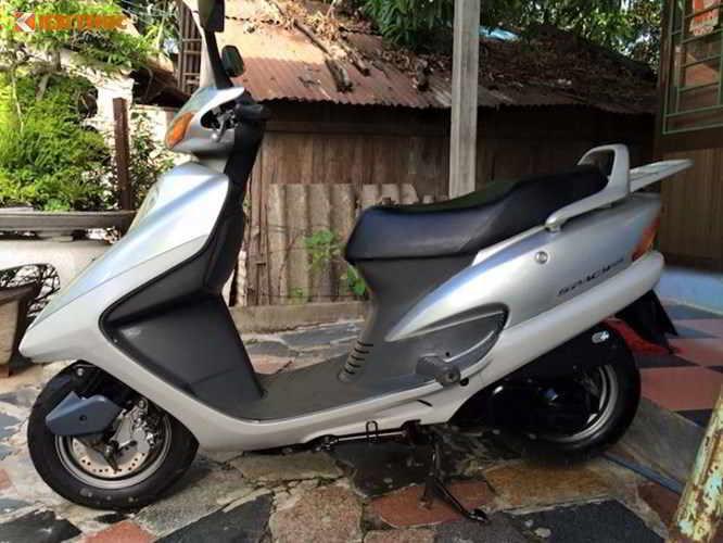 """""""Soi"""" Honda Spacy đi 16 năm giá 200 triệu tại Hà Nội"""