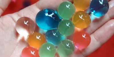 đồ chơi hạt nhựa nở trung quốc.