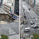 Nhật Bản sửa xong 1 hố tử thần khổng lồ trong vỏn vẹn 2 ngày