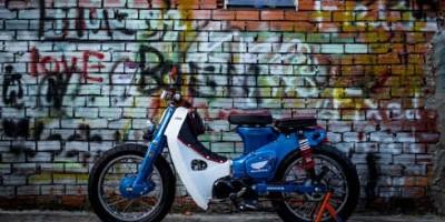 Honda Cub 78 độ 'phá cách' của dân chơi Việt