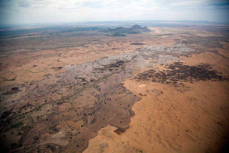 Biến đổi khí hậu ở sudan.