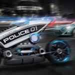 Siêu mô tô không người lái sẽ thay cảnh sát tuần tra?
